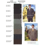 Mantoni Super 140's Wool Suits