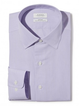 Light Purple Collared Shirt