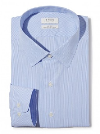 Light Blue Line Collared Shirt