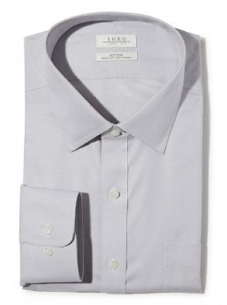 Light Gray Collared Shirt