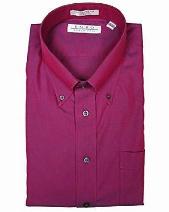 Maroon Collared Shirt